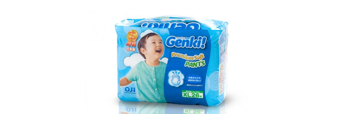 Трусики Genki XL 26 шт (12-17 кг)