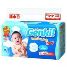 Подгузники Genki NB 44 шт (до 5 кг)