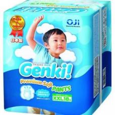 Трусики Genki XXL 18 шт (13-25 кг)