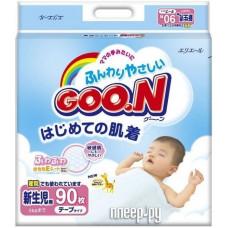 Подгузники Goon NB 90 шт (до 5 кг)