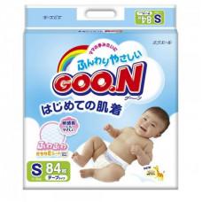 Подгузники Goon S 84 шт (4-8 кг)