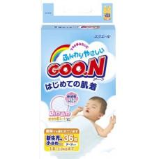 Подгузники Goon XXS 36 шт (от 1.8 до 3 кг)