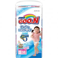 Трусики Goon Big 38 шт (12-20 кг) для девочек