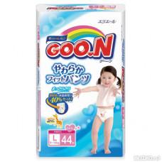 Трусики Goon L 44 шт (9-14 кг) для девочек