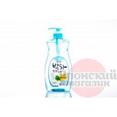 CJ Lion Chamgreen Средство для мытья посуды/овощей/фруктов Мята 1000 гр (965 мл)
