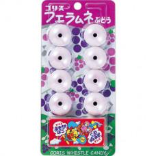 Coris Whistle Ramune Candy Grapes Содовая конфета-свисток Виноград 22 гр
