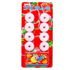 Coris Whistle Ramune Candy Strawberry Содовая конфета-свисток Клубника 22 гр