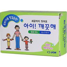 """Антибактериальное мыло """"Ai - Kekute"""" CJ Lion Лимонное масло, для всей семьи, 100 гр"""