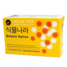 CJ Lion Мыло туалетное Botanical Nation, экстракт ромашки,100 гр