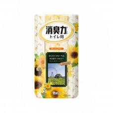 ST Shoushuuriki Жидкий ароматизатор для туалетной комнаты Захватывающий цветочный аромат 400 мл