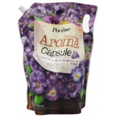 CJ Lion Porinse Aroma Capsule Violet Кондиционер для белья (м.у.) 2100 мл