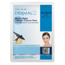 Маска коллагеновая Dermal Collagen Essence Mask Bird's Nest с экстрактом птичьих гнезд 1 шт
