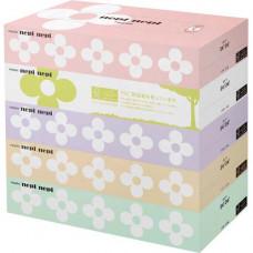 Nepia Бумажные двухслойные салфетки NepiNepi 197х217 мм 160 шт * 5