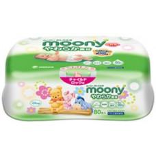 Влажные салфетки Moony (box) 80 шт