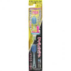 Hukuba Dental Kiss You Сменные головки для щетки с широкой чистящей головкой Средняя жесткость 2 шт