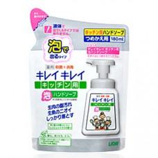 Lion Kirei Kirei Пенное мыло для рук антибактериальное кухонное Цитрус (м.у.) 180 мл
