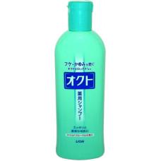 Lion Oct Шампунь для профилактики перхоти и зуда Сила волос с цветочным ароматом 320 мл