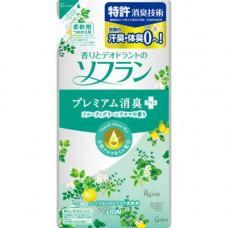 Кондиционер для белья Lion Soflan Aroma Natural с ароматом фруктов и цитрусов (м.у.) 480 мл