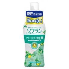 Кондиционер для белья Lion Soflan Aroma Natural с ароматом фруктов и цитрусов 620 мл