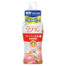Lion Soflan Aroma Natural Кондиционер для белья с ароматом цветов и туалетного мыла 620 мл