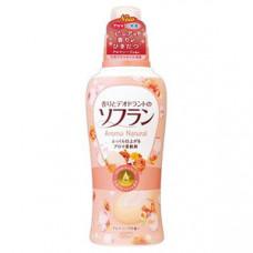 Кондиционер для белья Lion Soflan Aroma Natural с ароматом цветов и туалетного мыла 650 мл