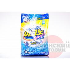CJ Lion Beat EconoPlus Max Стиральный порошок для стирки в холодной воде (автомат)(м.у.) 10000 гр