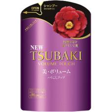Shiseido Tsubaki Volume Touch Шампунь для волос безсиликоновый Объем с маслом камелии (м.у.) 345 мл