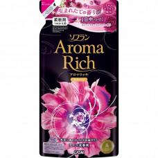 Lion Soflan Aroma Rich Juliette Кондиционер для белья с маслом смородины, жасмина (м.у.) 480 мл