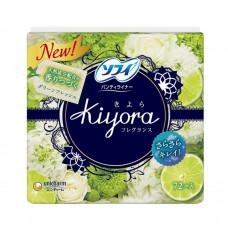 Unicharm Sofy Kiyora Fresh Гигиенические прокладки ежедневные 14 см 72 шт