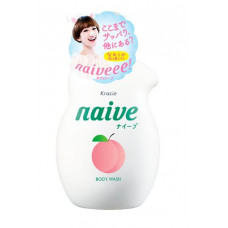 Kracie Naive Мыло жидкое для тела Экстракт персика 530 мл