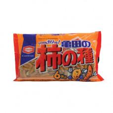 Kameda Kakinotane Рисовые снэки с красным перцем и арахисом 32 гр