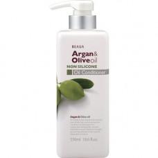 Kumano Beaua Argan & Olive Oil Conditioner Кондиционер увлажняющий Арган и Олива 550 мл