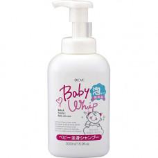 Kumano Deve Baby Whip Детское мыло-пенка для тела 500 мл