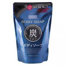 Kumano Deve Charcoal Body Soap Жидкое мыло для тела с древесным углем (м.у.) 400 мл