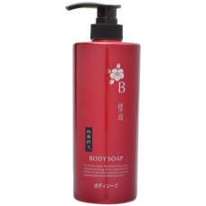 Kumano ShikiOriori Body Soap Жидкое мыло для тела с маслом камелии 600 мл
