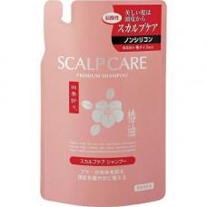 Kumano ShikiOriori Premium Shampoo Шампунь для сухих и сильно поврежденных волос Белая Камелия (м.у.