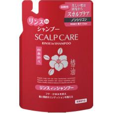 Kumano ShikiOriori Sculp Care Rinse In Shampoo Шампунь 2 в 1 для сухих и сильно поврежденных волос К