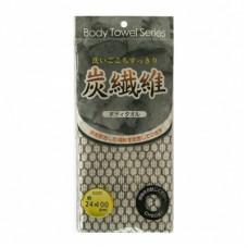 Мочалка для тела Lec с угольной нитью Мягкая 24 х 100 см 1 шт