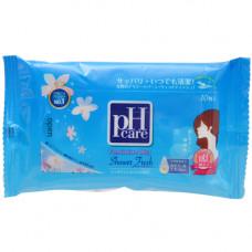 JRS PH Care Влажные салфетки для интимной гигиены Shower Fresh 10 шт