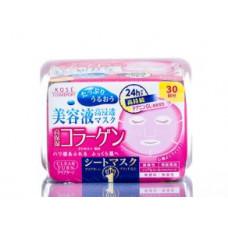 Kose Clear Turn Collagen Маска омолаживающая с коллагеном 30 шт