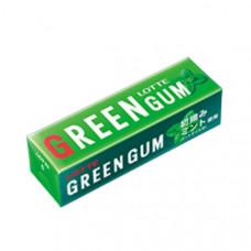 Lotte Green Gum Жевательная резинка Свежая зеленая мята 9 пластинок