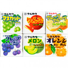 Marukawa Assorted 6 Жевательная резинка Ассорти 6 шт 32,4 гр