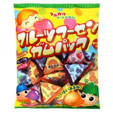 Marukawa Assorted Triangle Жевательная резинка Ассорти Треугольник 216 гр 1 упаковка из 40 шт