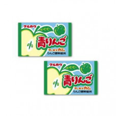 Marukawa Green Apple Жевательная резинка Зеленое яблоко 5,5 гр