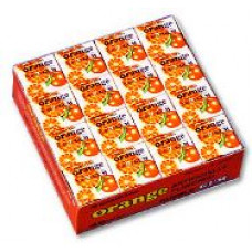 Marukawa Marble Orange Жевательная резинка Апельсин 48 упаковок по 4 шарика