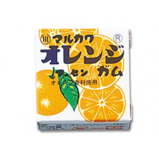 Marukawa Marble Orange Жевательная резинка Апельсин 1 упаковка 5,4 гр (4 шарика)