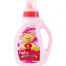 Жидкое средство для стирки детского белья Nissan FaFa Яблочный цвет 1000 мл