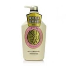 Shiseido KuYuRa Жидкое мыло для тела с ароматом цветов 550 мл