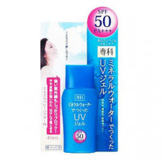 Shiseido Senka Mineral Water UV Gel Солнцезащитный гель с УФ-фильтром SPF50+ PA++++ 40 мл