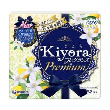 Unicharm Sofy Kiyora Premium Гигиенические прокладки ежедневные с ароматом цветов апельсинового дере